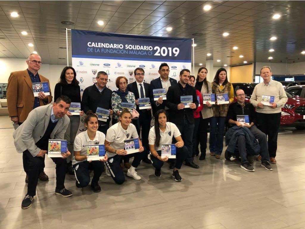 Copyrap colabora con el Málaga CF femenino